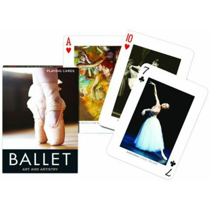 Exkluzív römi kártya - Balett
