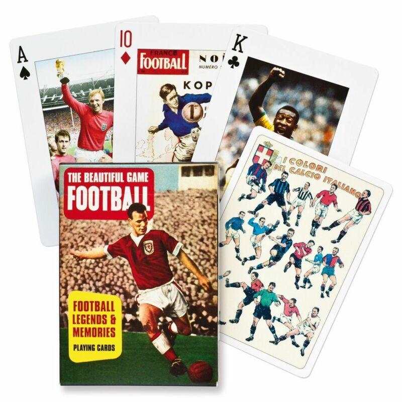 Futball legendák francia kártya - 55 lapos