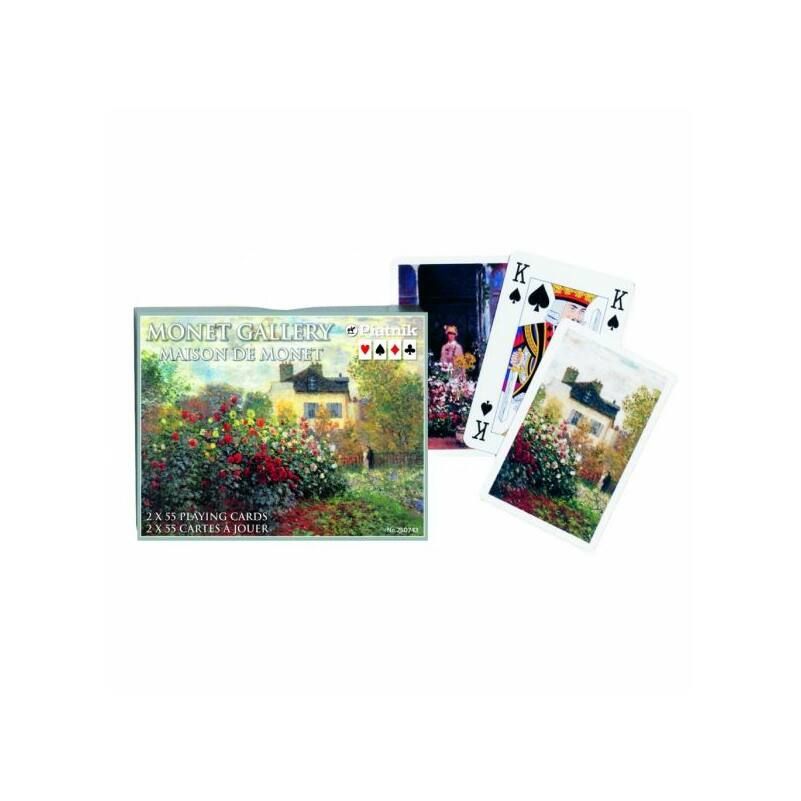 Monet - Maison de Monet Luxus römi kártya 2x55 lap - Piatnik