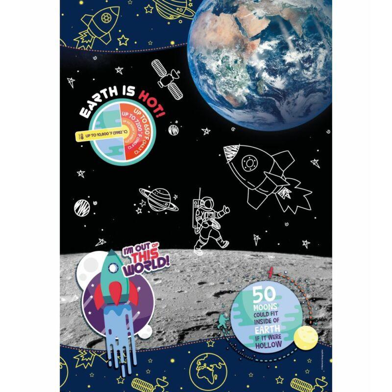 Űrkutató 104 db-os puzzle - Clementoni National Geographic Kids