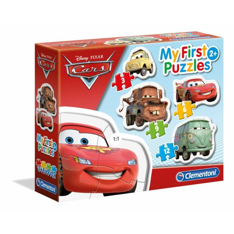 Verdák 3,6,9,12 db-os puzzle - Clementoni