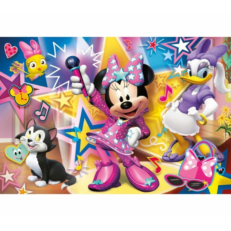 Minnie segítői 60 db-os maxi puzzle - Clementoni