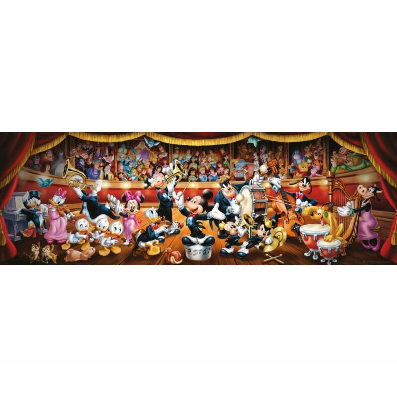 Disney Orchestra 1000 db-os panoráma puzzle - Clementoni