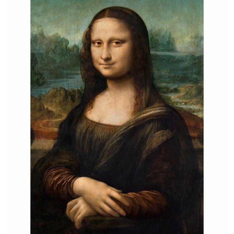 Leonardo Da Vinci: Mona Lisa 500 db-os puzzle - Clementoni