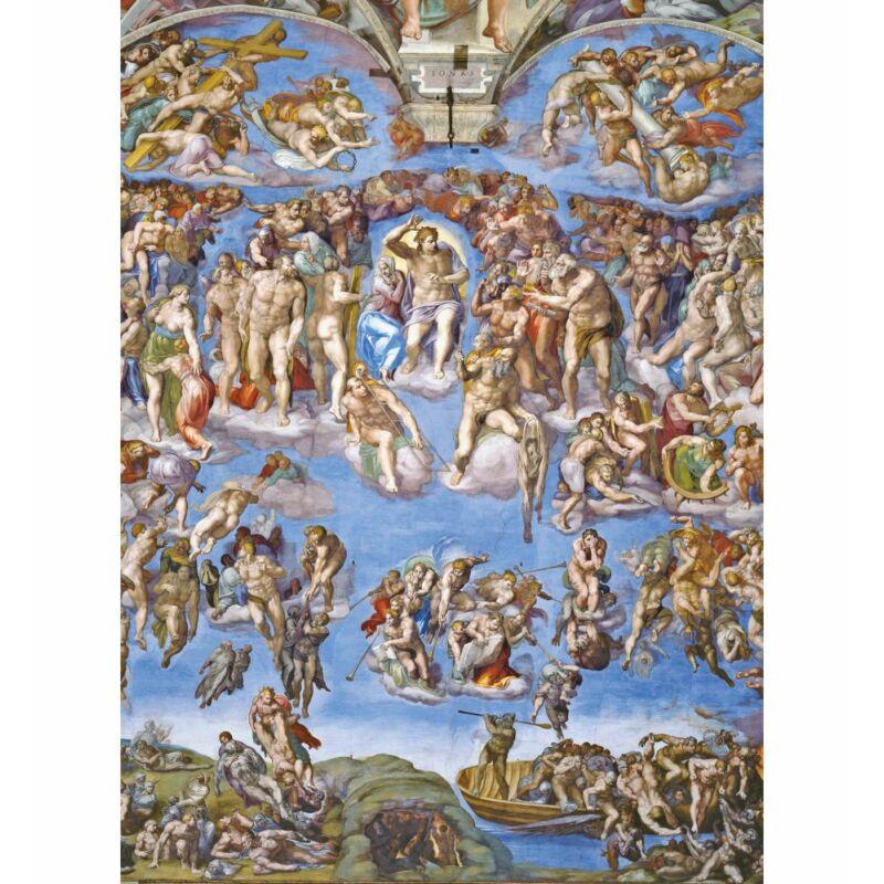 Michelangelo: Végítélet 1000 db-os puzzle - Clementoni