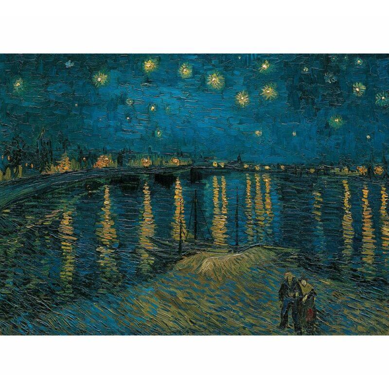 Van Gogh: Csillagos éj a Rhone fölött 1000 db-os puzzle - Clementoni