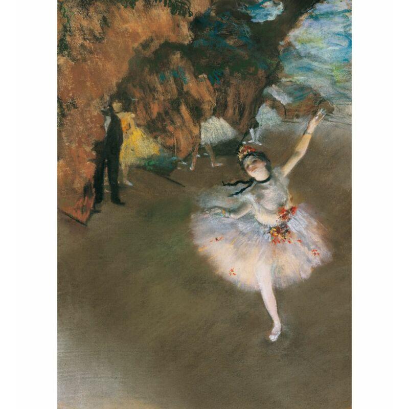 Degas: Táncosnő a színpadon 1000 db-os puzzle - Clementoni