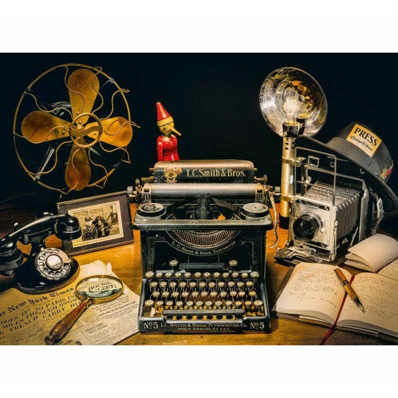 Az írógép 500 db-os puzzle - Clementoni