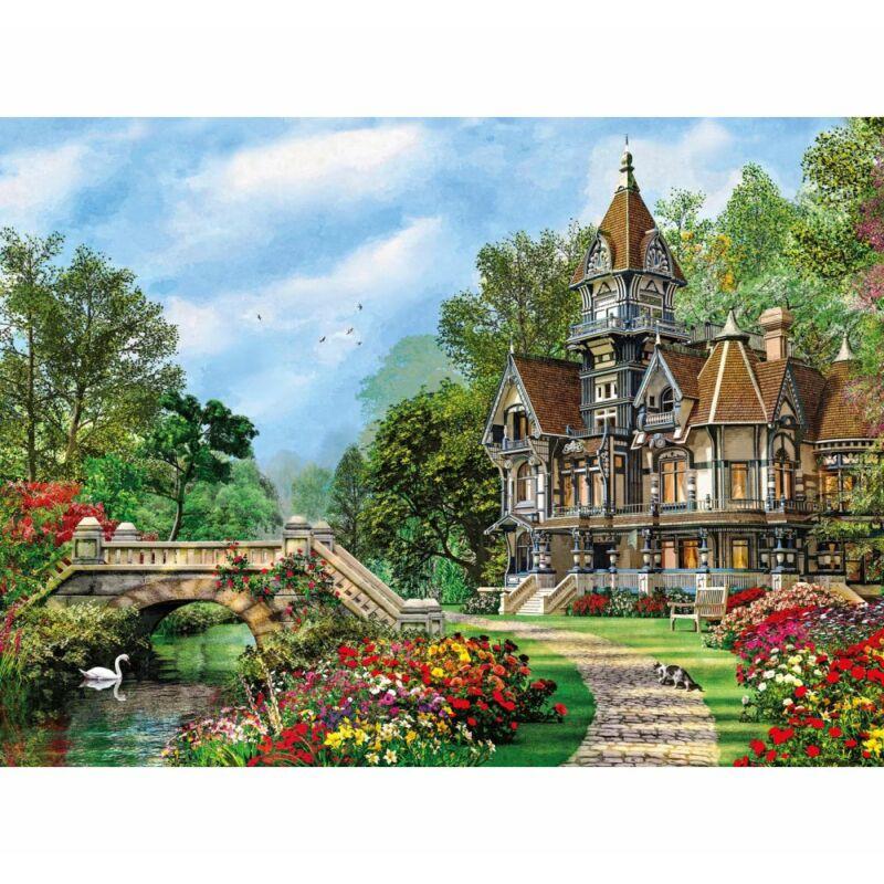 Vidéki villa 500 db-os puzzle - Clementoni
