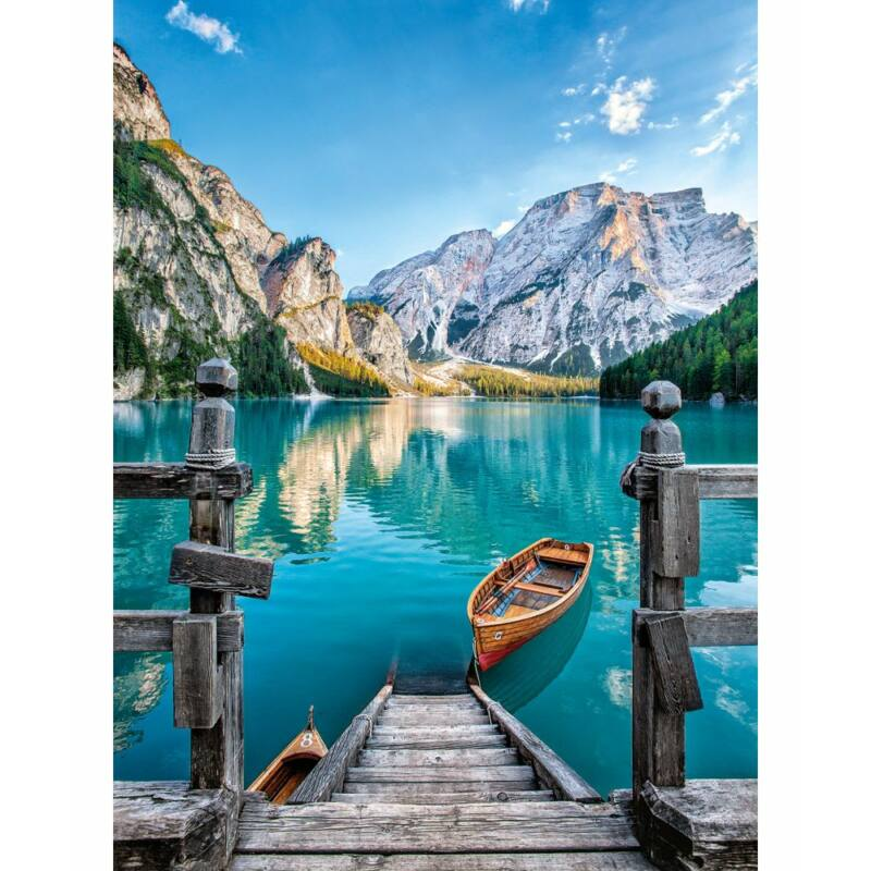 Braies-tó 500 db-os puzzle - Clementoni