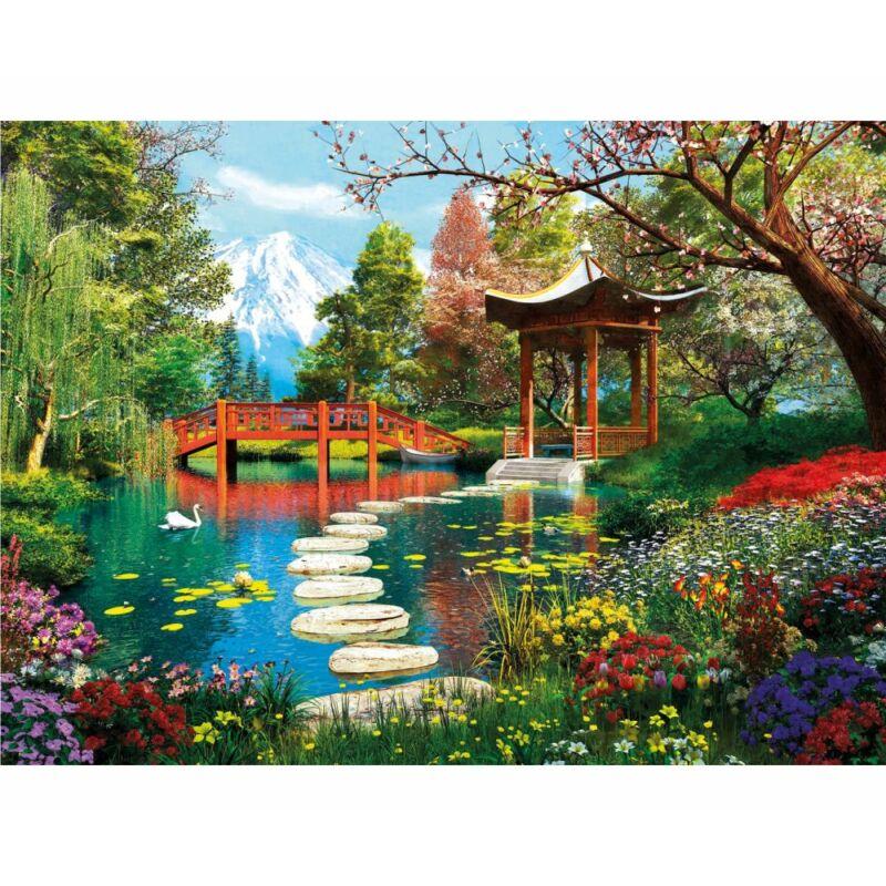 Fuji kert 1000 db-os puzzle - Clementoni