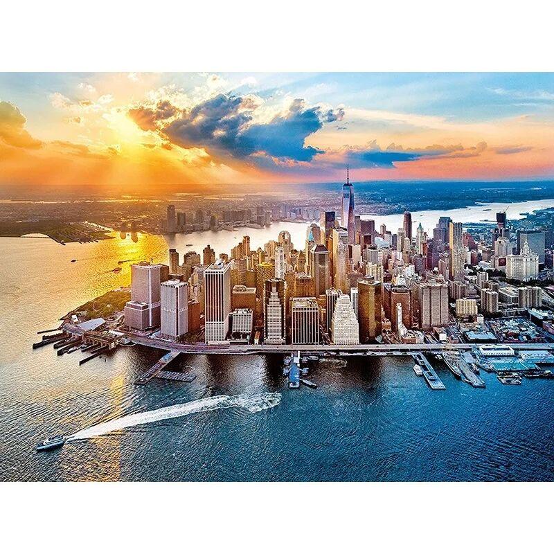 New York 500 db-os puzzle - Clementoni