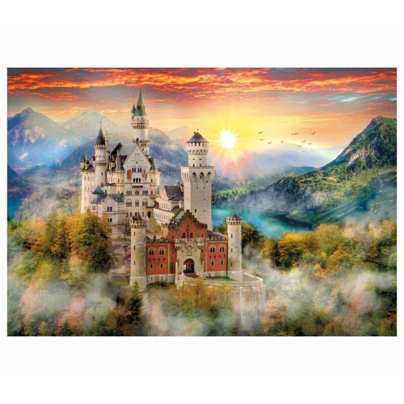Neuschwanstein kastély 2000 db-os puzzle - Clementoni