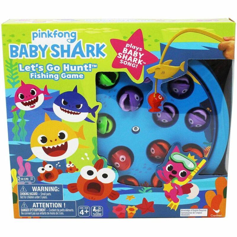 Baby Shark horgász játék