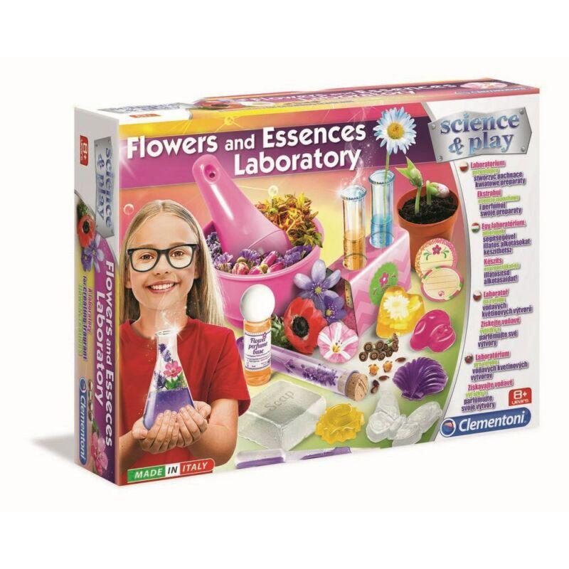 Virágok és illatok készlet - Clementoni