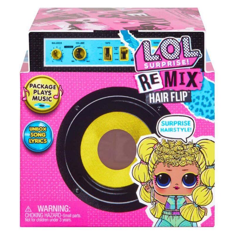 LOL Surprise REMIX Hairflip meglepetés gyűjthető baba