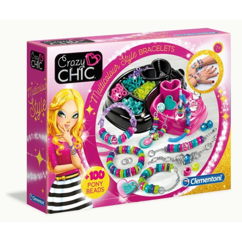 Crazy Chic Karkötőkészítő készlet - Clementoni