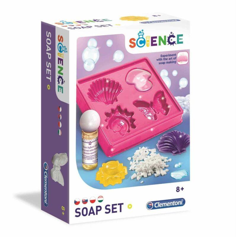 Kézsíts szappanokat - Clementoni Science