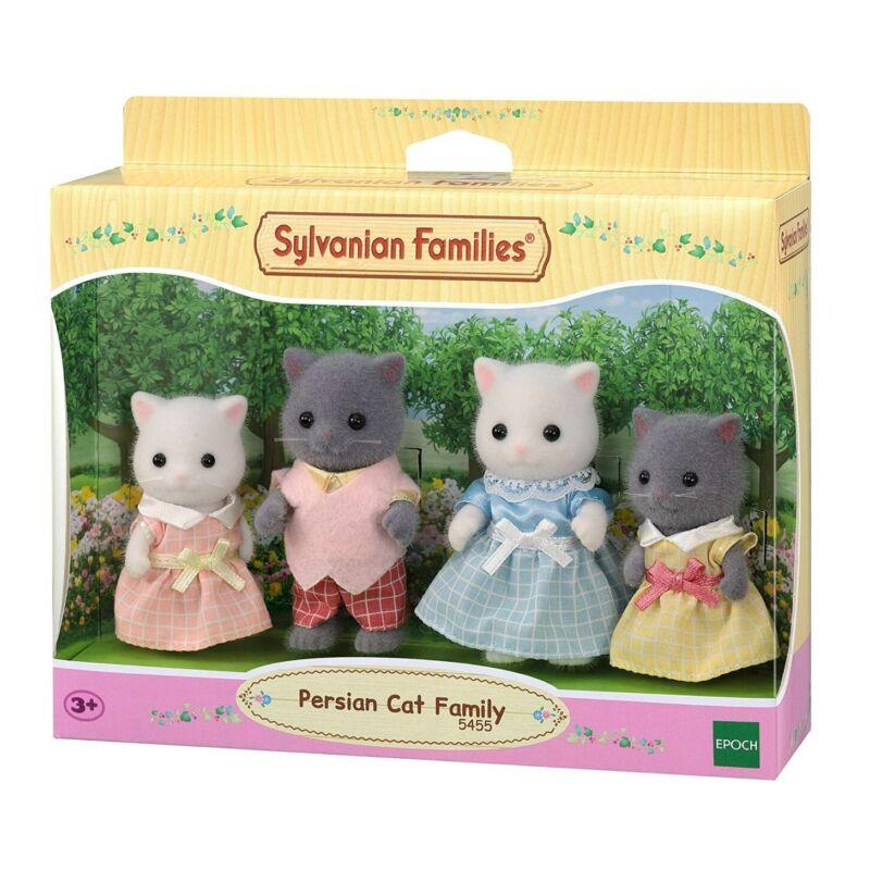 Sylvanian Families perzsa cica család