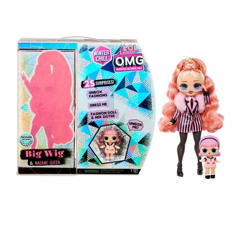 LOL Surprise OMG Winter Chill - Big Wig / Madame Queen divatbabák