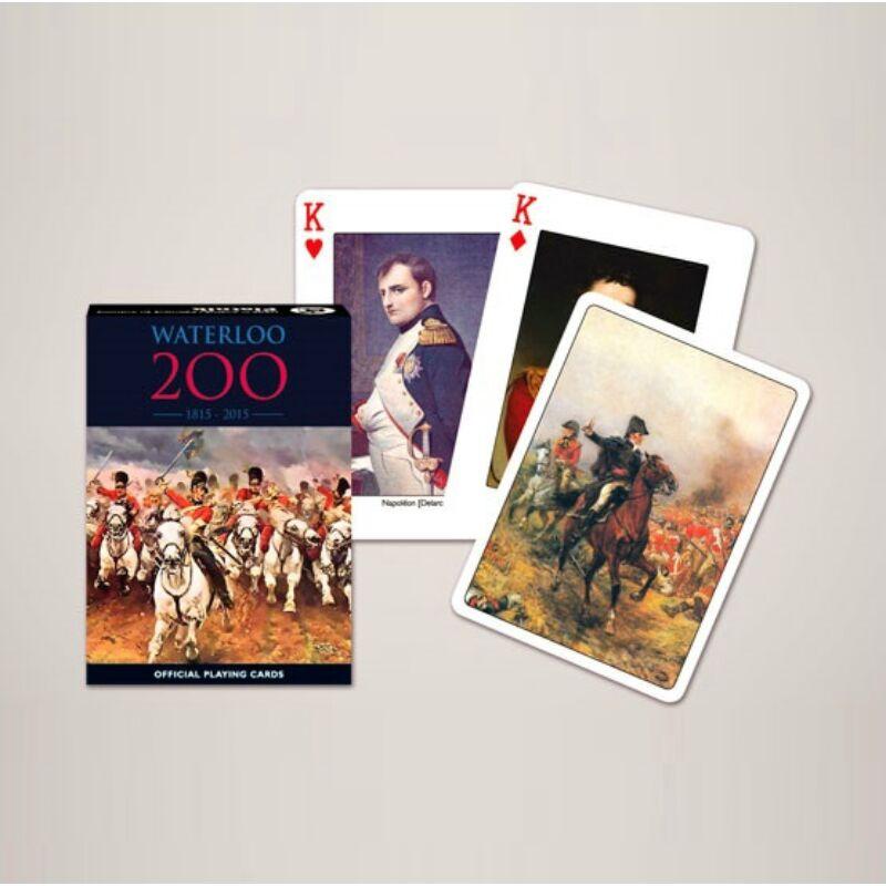 Waterloo 200 jubileum kártya 1x55 lap - Piatnik