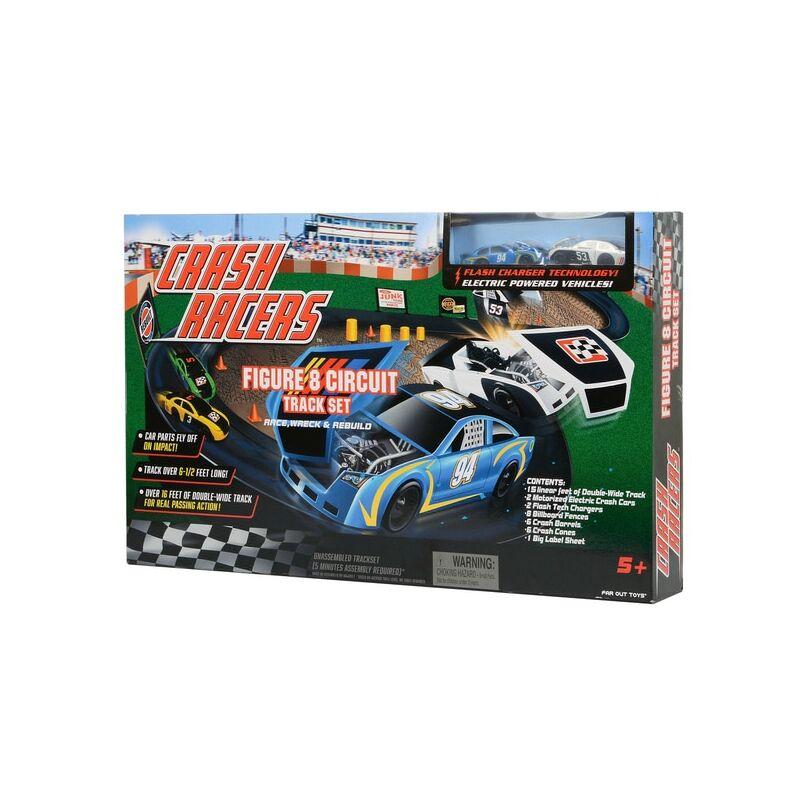 CRASH RACERS - nyolcas alakú karambol verseny pálya