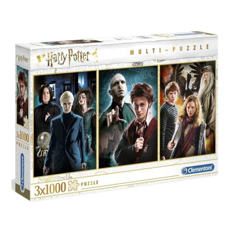 Harry Potter 3x1000 db-os multi puzzle - Clementoni