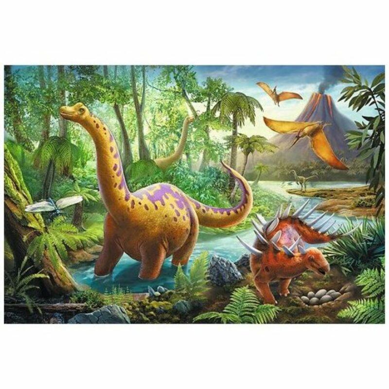 Dinosaur Migration 60 db-os puzzle - Trefl