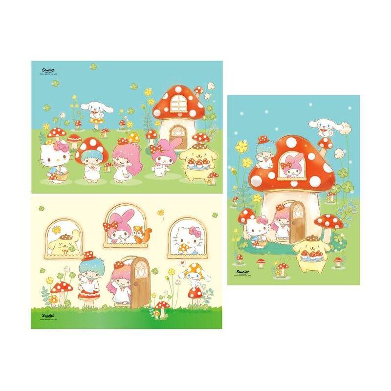 Hello Kitty 3x48 db-os puzzle - Clementoni