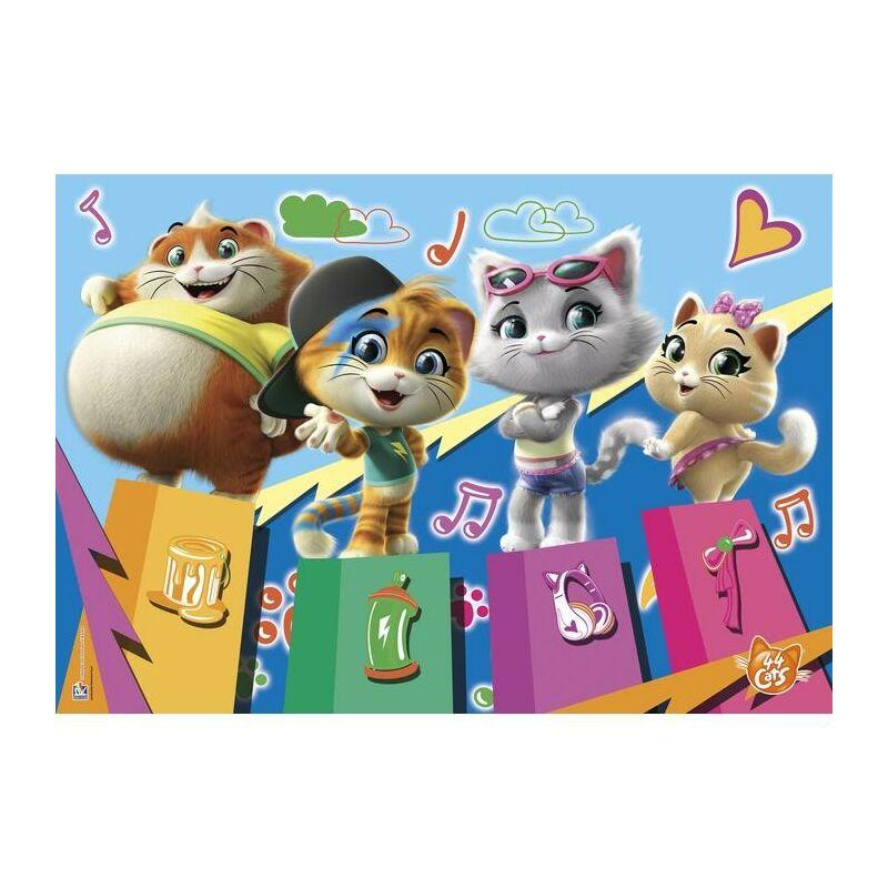 44 macska 104 db-os puzzle - Clementoni