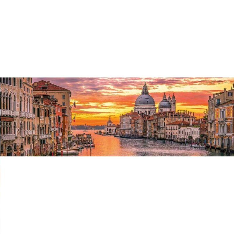 Velencei csatorna 1000 db-os panoráma puzzle - Clemetoni