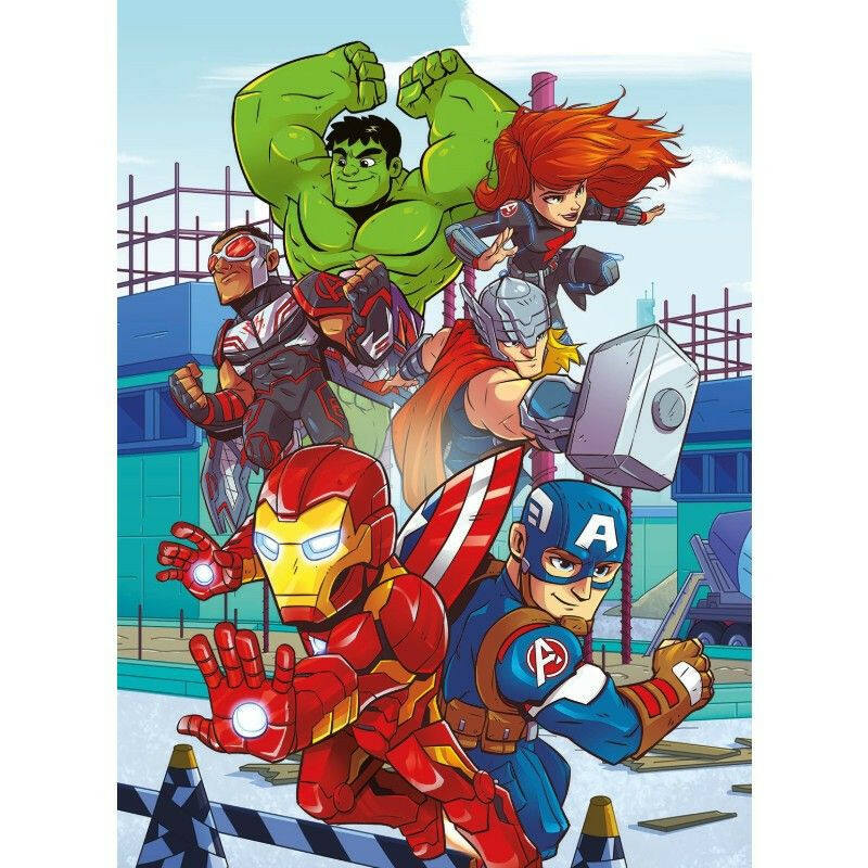 Play for future Marvel 2x20 db-os puzzle - Clementoni