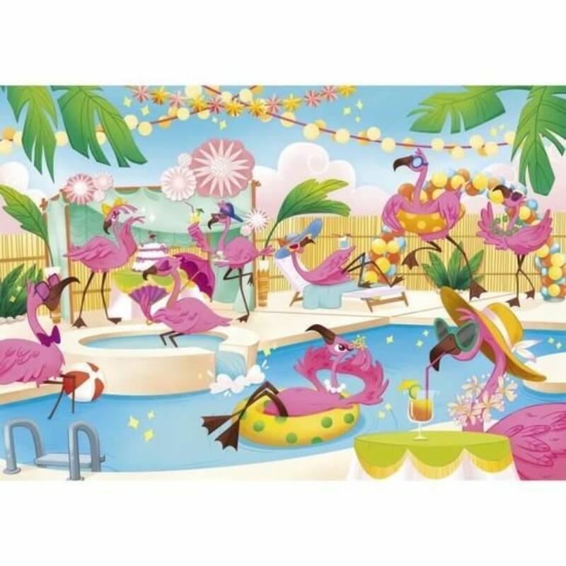 Flamingók 104 db-os puzzle - Clementoni