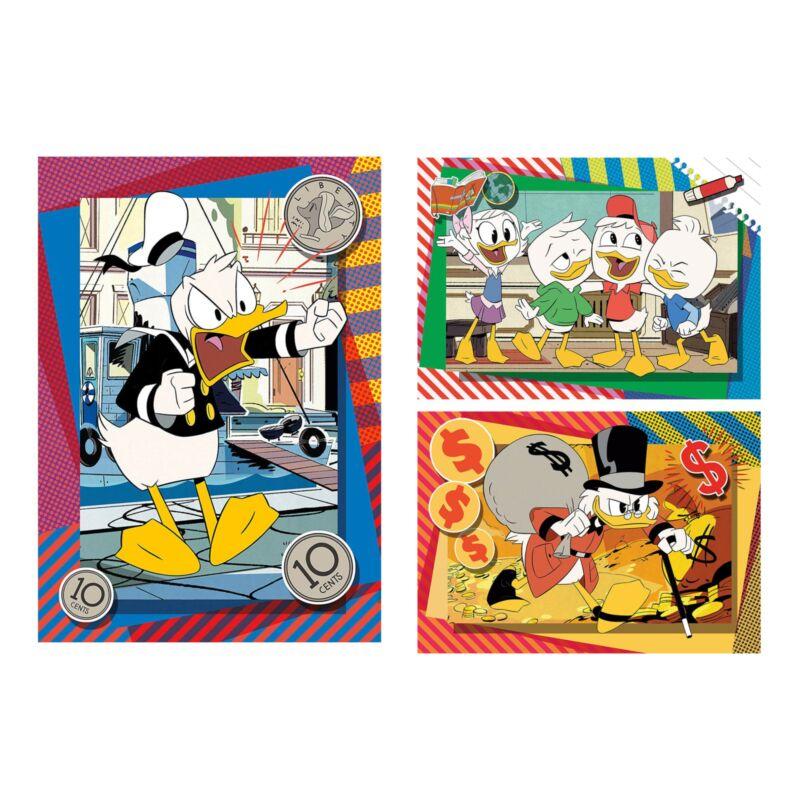 Kacsamesék 3x48 db-os puzzle - Clementoni