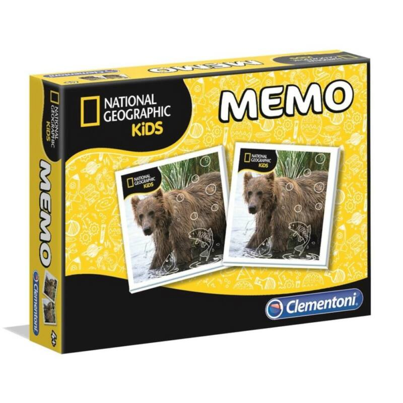 Zsebmemo National Geographic - Clementoni