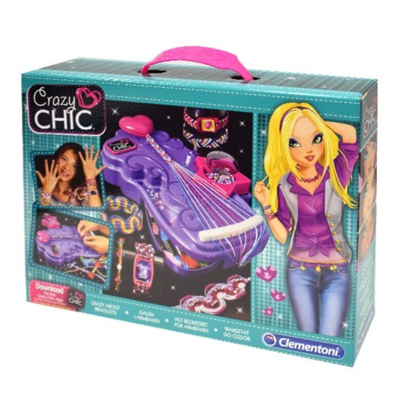 Crazy Chic Karkötőmánia karkötő készítő - Clementoni