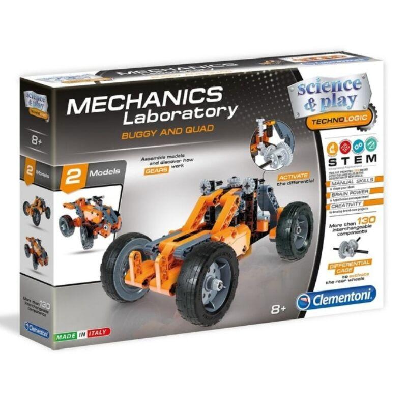 Mechanikus Buggy   Quad építőjáték - Clementoni