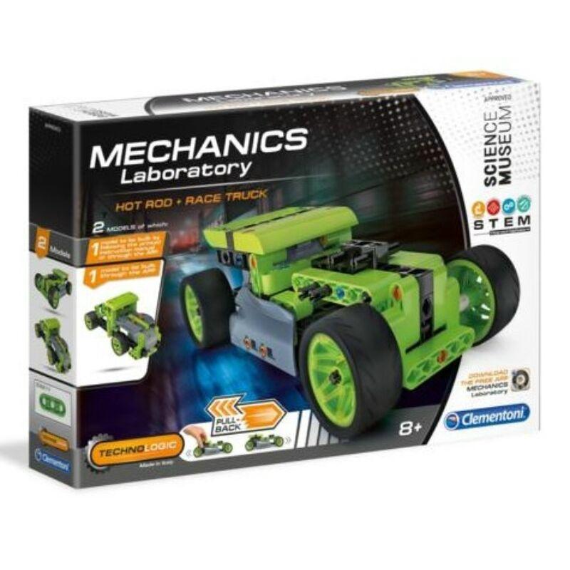 Mechanikus Hot Road építőjáték - Clementoni