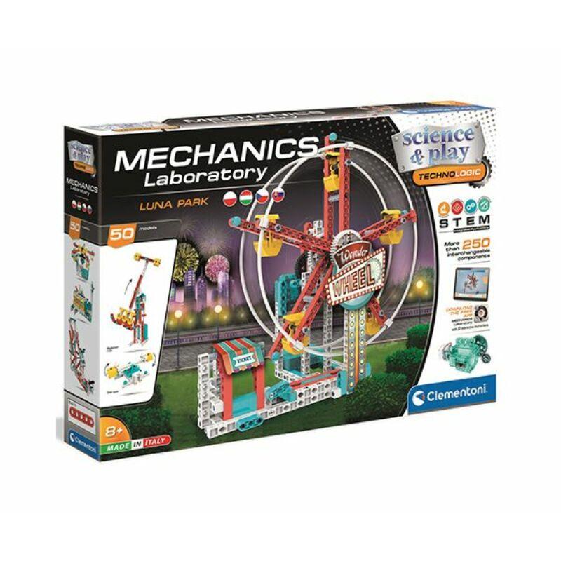 Mechanikus Luna park építőjáték - Clementoni