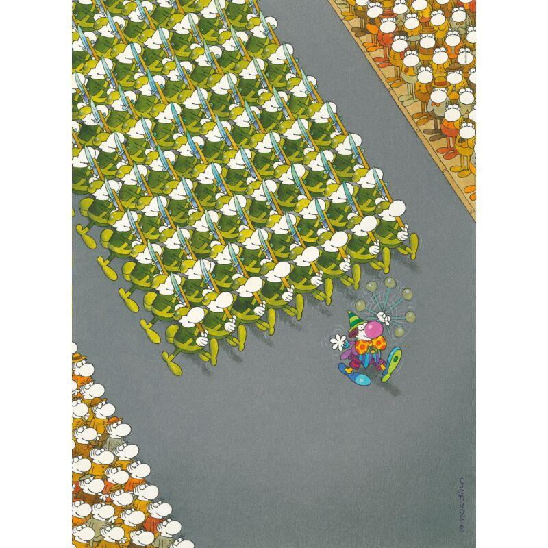 Mordillo, a felvonulás 500 db-os puzzle - Clemetoni