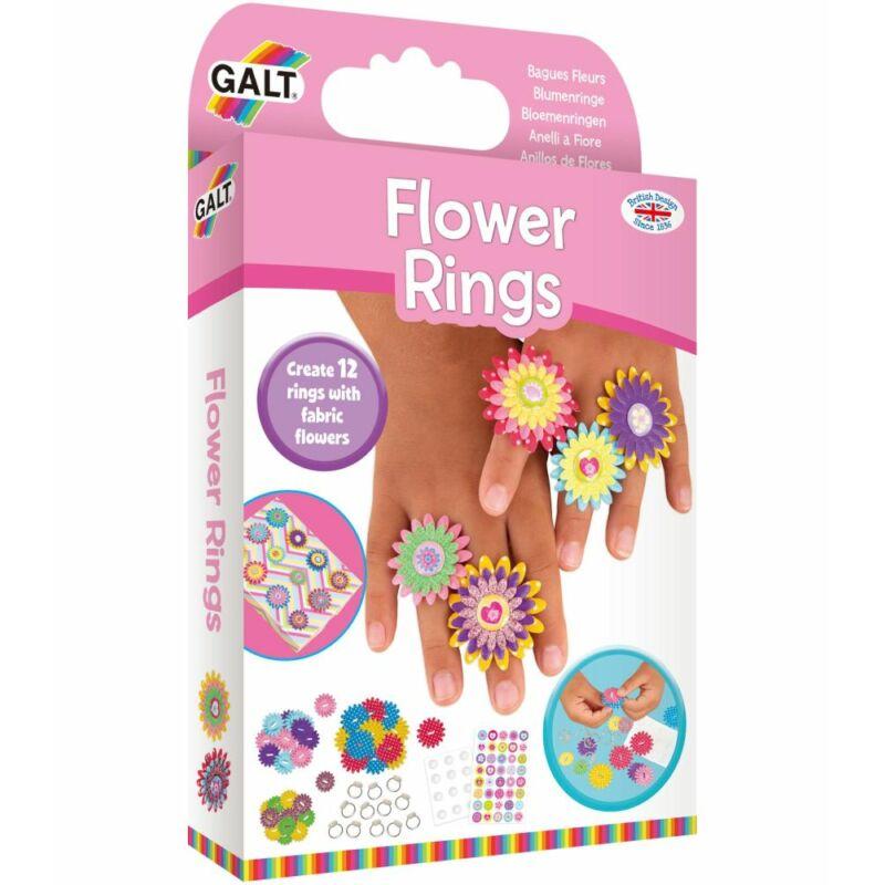 Galt Virágos gyűrűk - ékszerkészítő