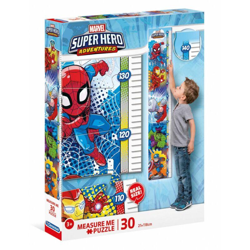 Magasságmérő puzzle- Szuperhős