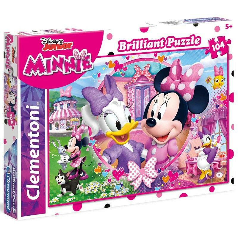 Minnie egér segítői 104 db-os puzzle - Clementoni