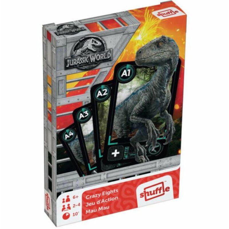Jurassic World Crazy Eights - Makaó kártya