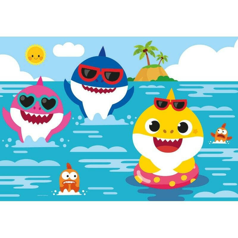 Baby Shark 24 db-os MAXI puzzle - Clementoni