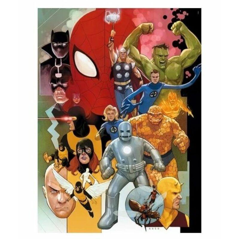 Marvel 80. évforduló - Bosszúállók 1000 db-os puzzle - Clementoni