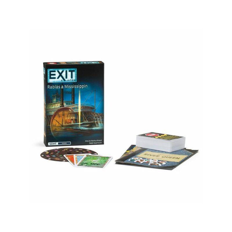 EXIT 14. - Rablás a Mississippin társasjáték