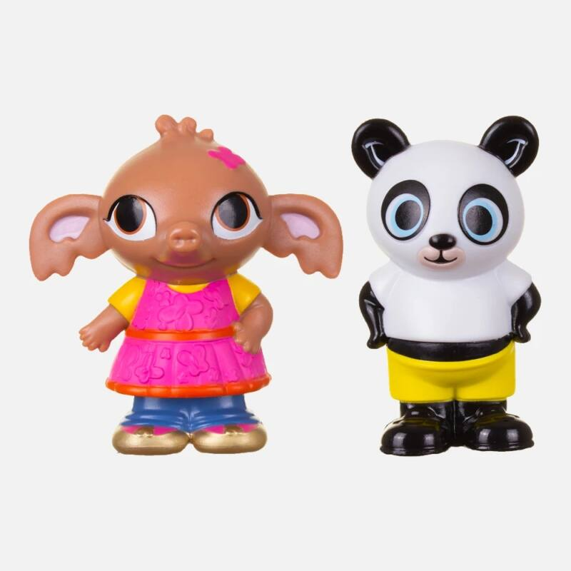 Bing és barátai 2 darabos műanyag figura szett - Sula és Pando