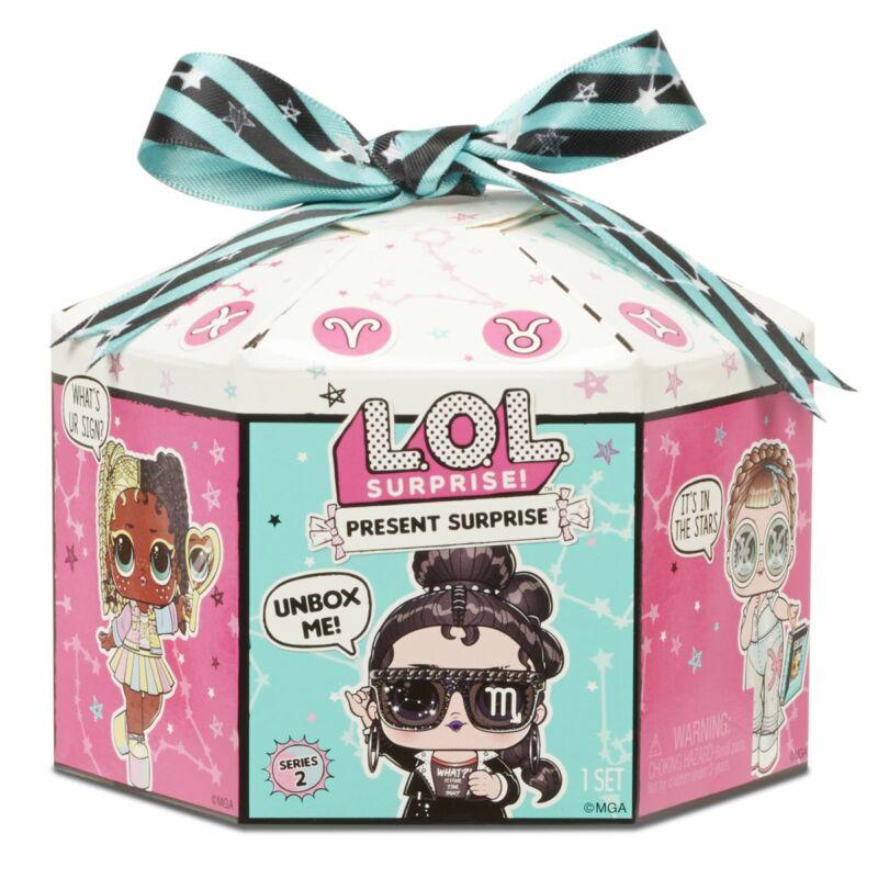 LOL Surprise Present Surprise meglepetés baba - S2
