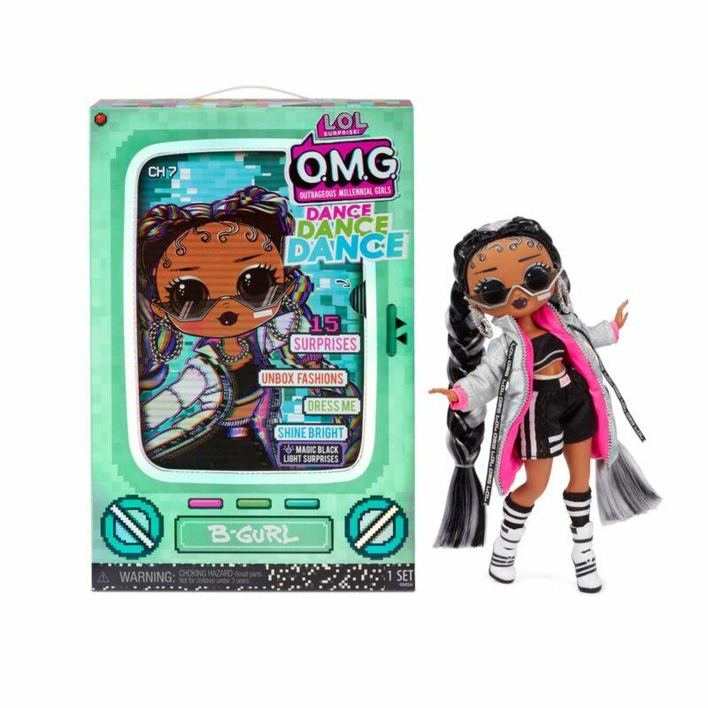 LOL Surprise OMG Dance Doll táncos babák - B-Gurl